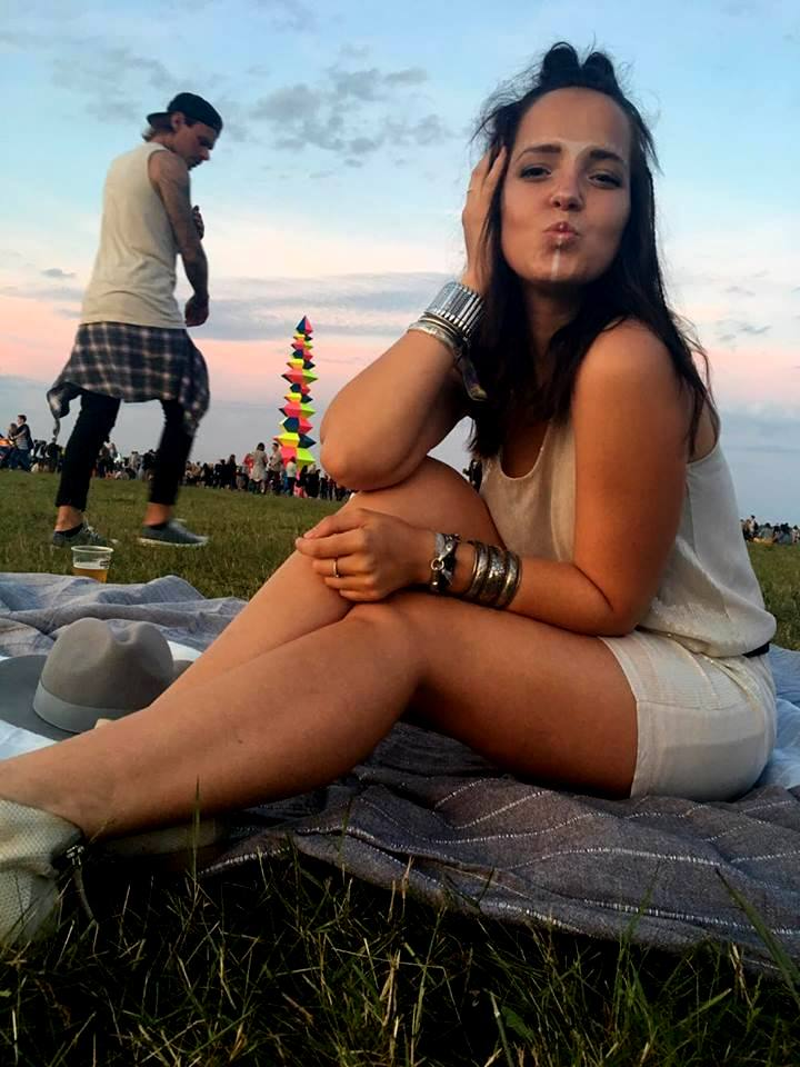 Karolina Cudak Opener 2016 makijaż festiwalowy