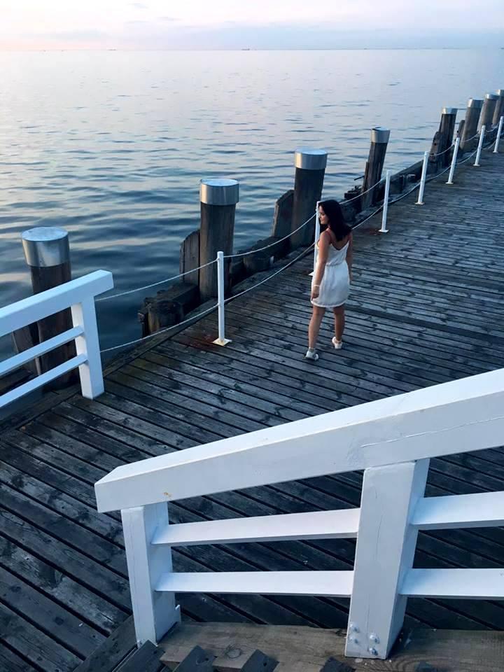 Molo Sopot Morze Bałtyckie KAROLINA CUDAK