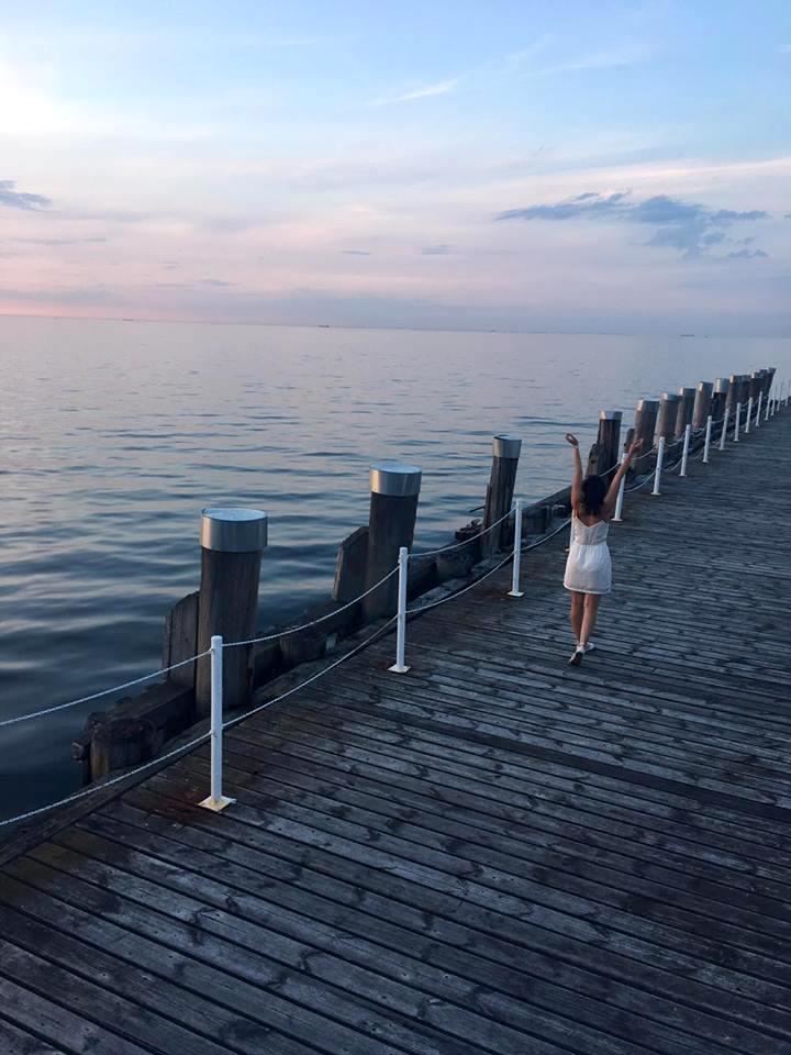 Sopockie Molo Morze Bałtyckie Karolina Cudak thosetwocando.com
