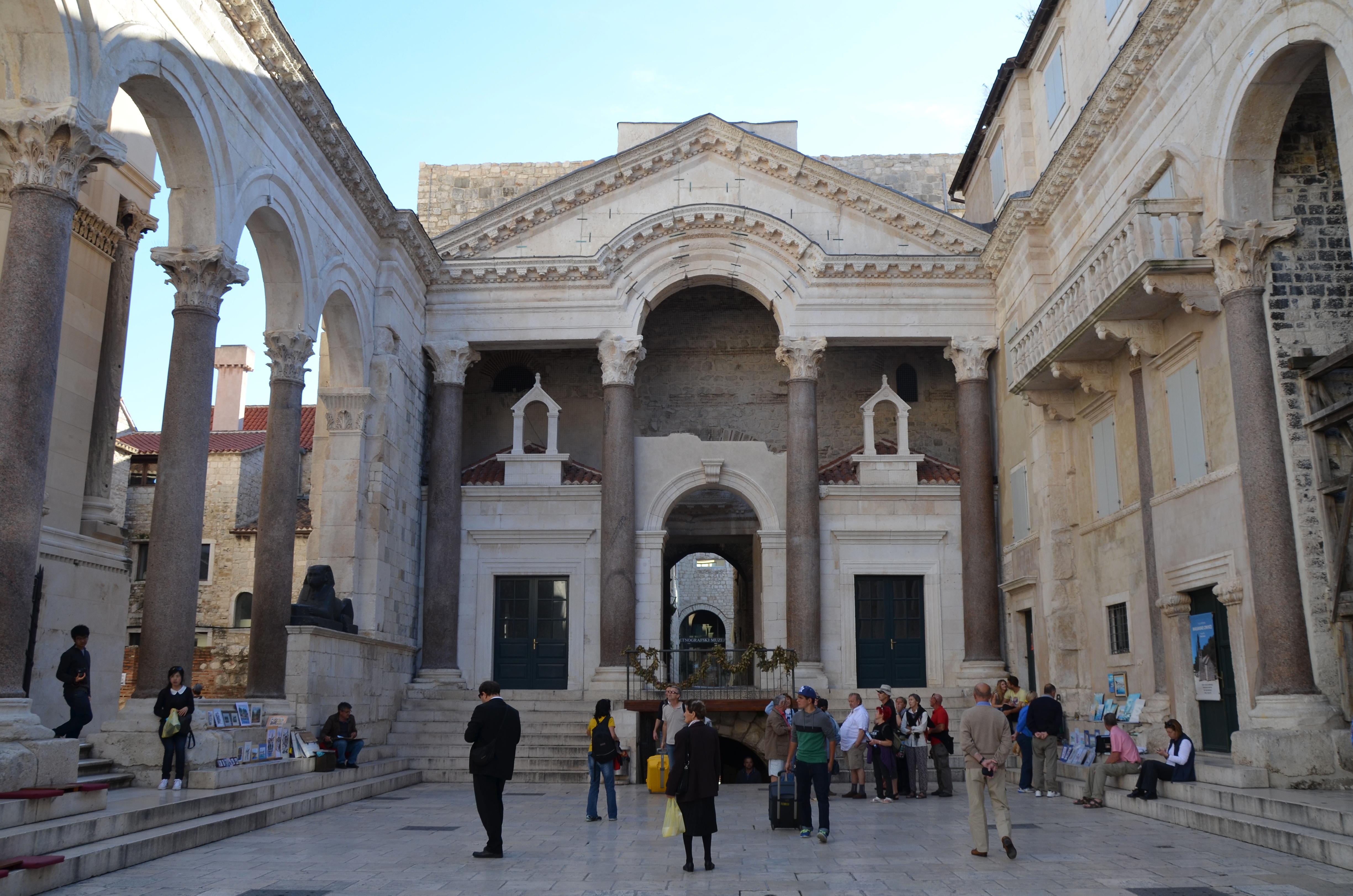 Nawa główna Dioklecjan Pałac Split 2016